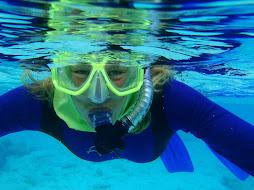 Di snorkelling