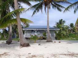 great house on the beach
