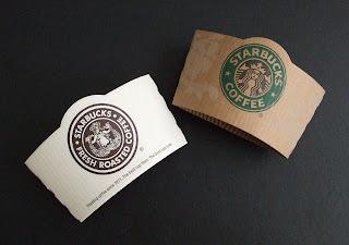 Starbucks coffee sleeves