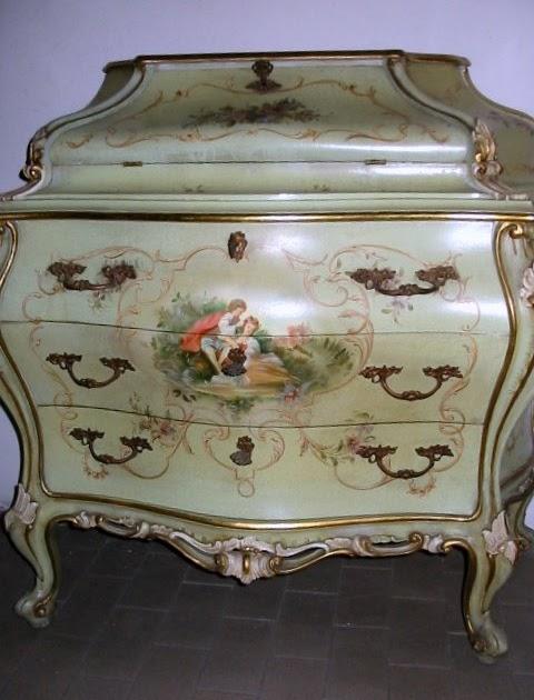 Arredamento antiquariato trumeau barocco veneziano for Arredamento barocco veneziano