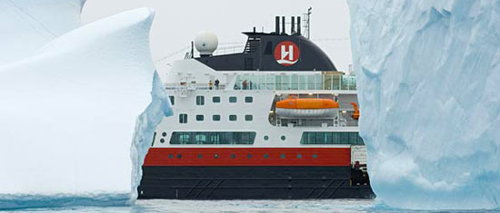 MS Fram, Hurtigruten's cruise explorer ship
