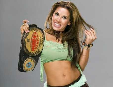 mickie2 Mickie James WWE! Since the retirement of Trish Stratus and Lita, Mickie has ...