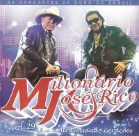 Cd Milionário e José Rico - Atravessando Gerações Vol. 29 [2008]