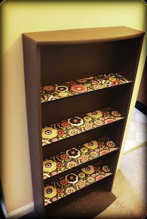 Garage Sale Bookshelf Makeover Frugal Flowery Fabulous