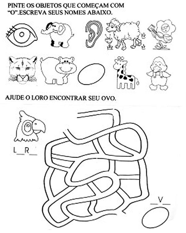 EXERC  CIOS DE ALFABETIZA    O PARA CRIAN  AS E JOVENS PARA O