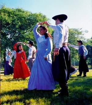 danças, típicas, do sul, brasil, folclore