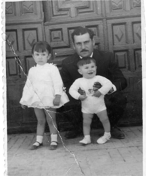 Mi  padre mi hermano y yo