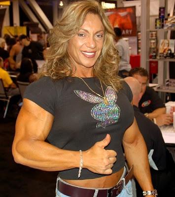 The Bigger the Better - Female Bodyduilders: Yaxeni Oriquen