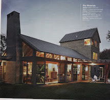 Farm House with Galvanized Roof