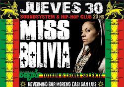 MISS BOLIVIA - 30 de Septiembre