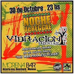 VIBRACION REGGAE - 30 de Octubre