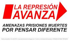La Represión Avanza