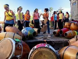 Cuerda femenina de tambores