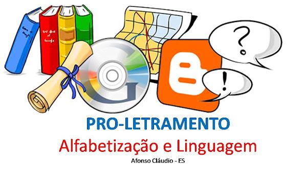 Regina PRO-LETRAMENTO - Afonso Cláudio/ES