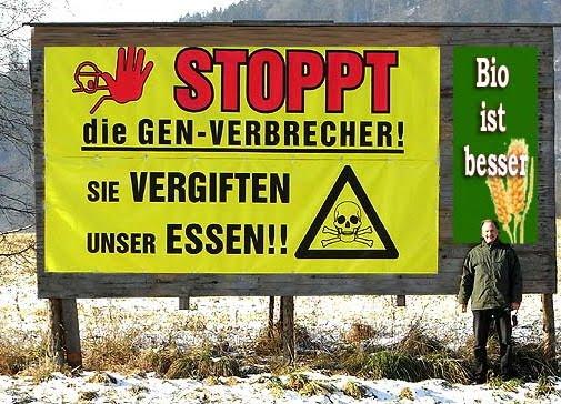JA ZUM GENTECHNIKFREIEN OESTERREICH - NEIN ZUR EU!
