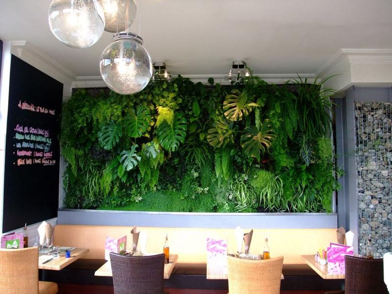 Wall art urbanflore les murs v g taux ram nent la nature chez soi - Mur vegetal exterieur pas cher ...