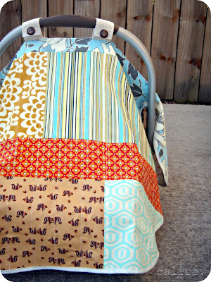 infant carseat blanket.