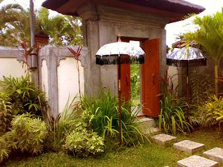 balinese style entrance door