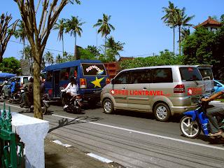 balis traffic nowdays is not too nice