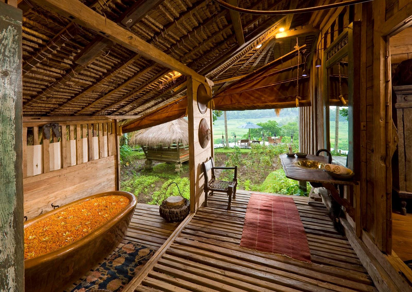 Pictures of bali a unique villa bambu indah villa for Unusual accommodation bali