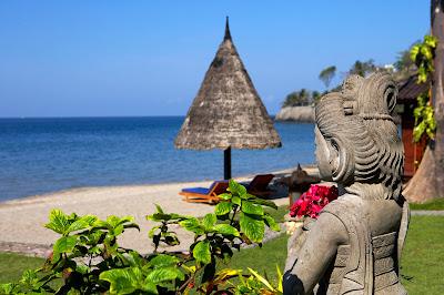 sheraton senggigi hotel beach view