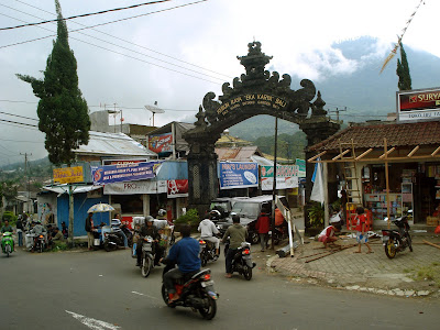 entrance to bedugul botanical garden