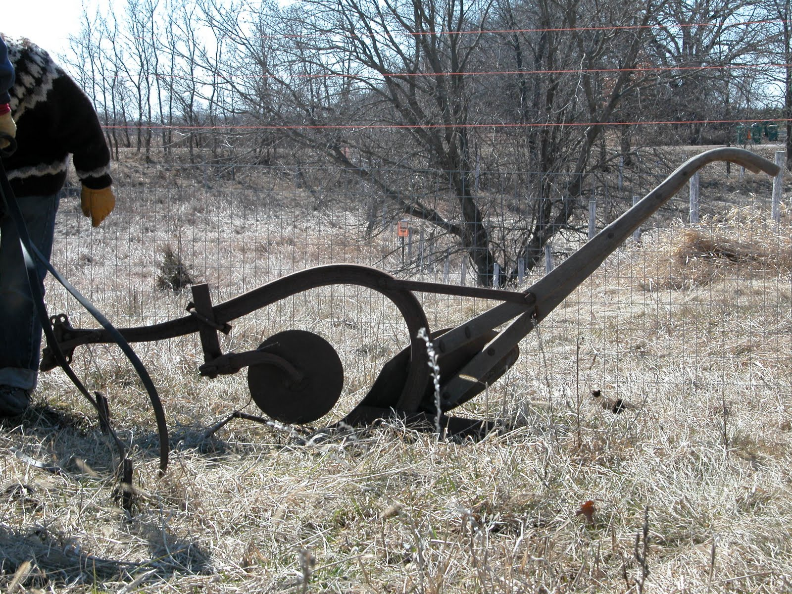 Horse Drawn Turning Plow http://littleflowerfarmcsa.blogspot.com/2010/03/draft-horse-ploughing.html