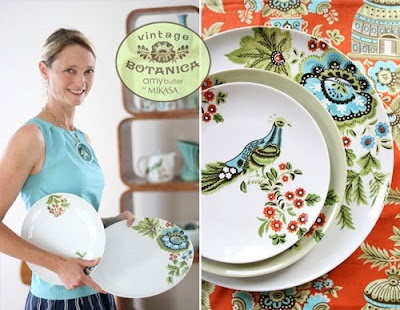 Amy Butler plates