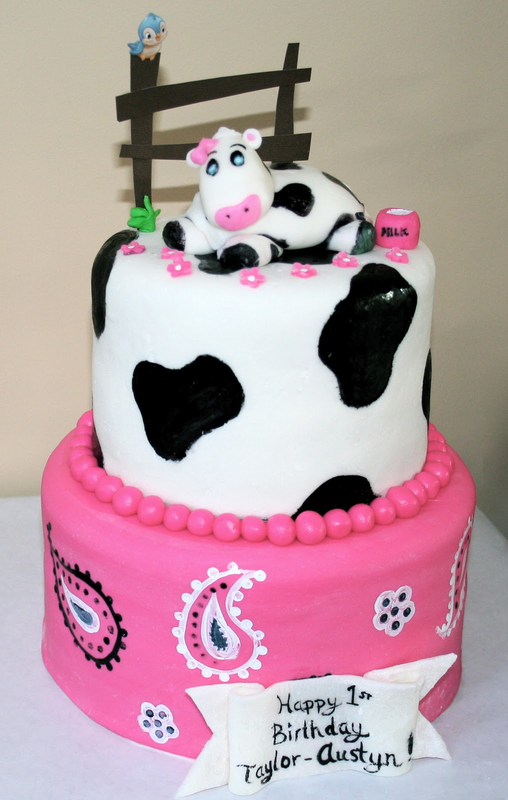 Easy Cow Cake Design : Sheets Sweets