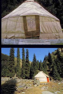 KAZAKH YURT AND THE ASIAN TENT & ARCHITECTURE: KAZAKH YURT AND THE ASIAN TENT