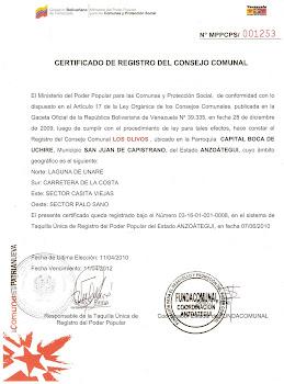 """""""Consejo Comunal Los Olivos"""""""