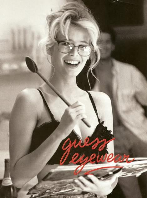 claudia schiffer guess. Claudia Schiffer Guess Ads
