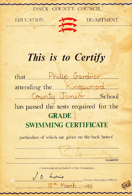 It looks like I saved that certificate from drowning.