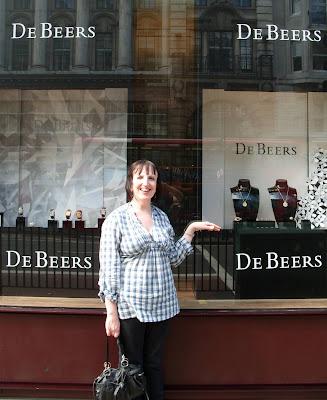 I'll get De Beers in.