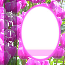 Free Digital Tulip Scrapbook Quick Page
