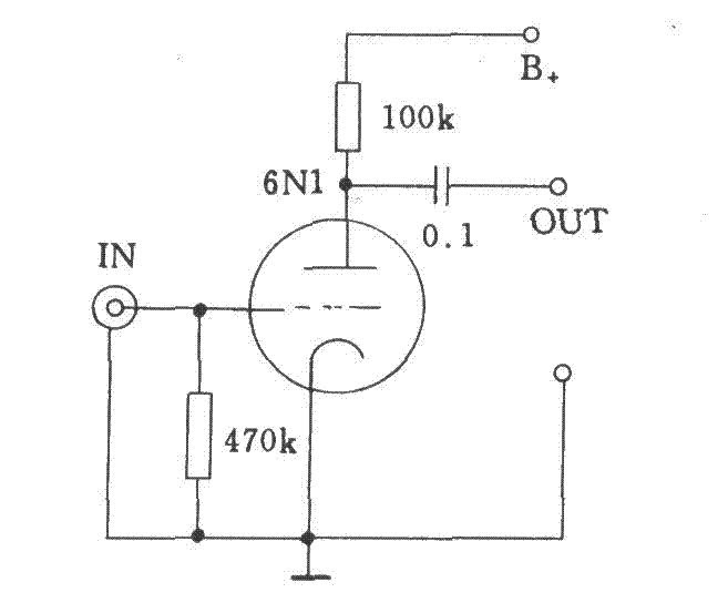 tube pre amplifier