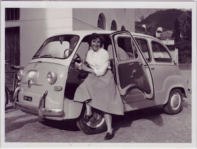 Yesterday's Minivan - The Fiat 600D Multipla