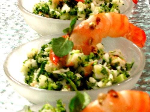La vie de chopstick salade brocoli et chou fleur - Comment conserver la salade ...