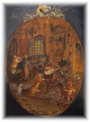 Tasha Tudor Christmas Cards