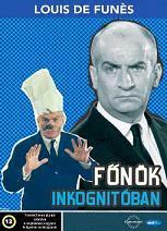 Louis De Funes - Főnök inkognitóban DVD