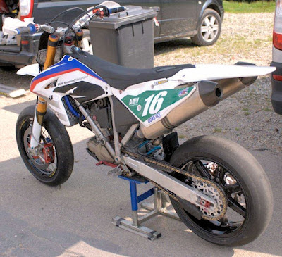 A BMW G450x converted to
