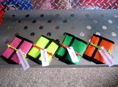 Totally Awesome 80's Party via Kara's Party Ideas wallets and bracelets