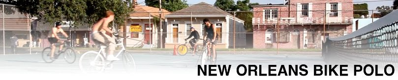 New Orleans Hardcourt Bike Polo