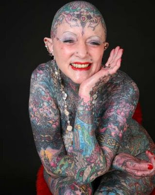 Isobel Varley, World's Most Tattooed Senior Woman