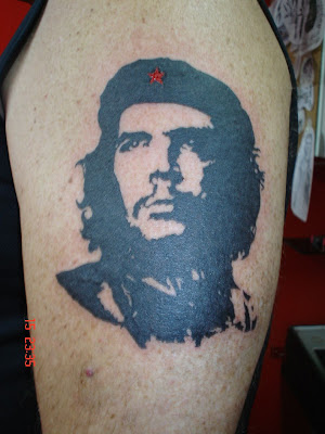 Che Guevara's face is one of the more favorite tattoo specially for the