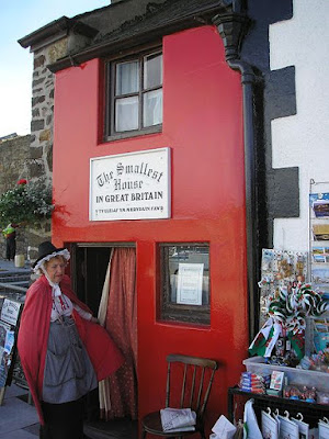 The Quay House, Smallest House in Great Britain at 3.05 x 1.8 Meters