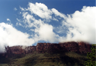 Mount Auyantepui, the Devil's Mountain