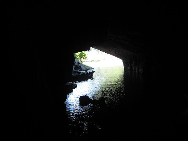Inside of underground river, Phong Nha-Ke Bang National park