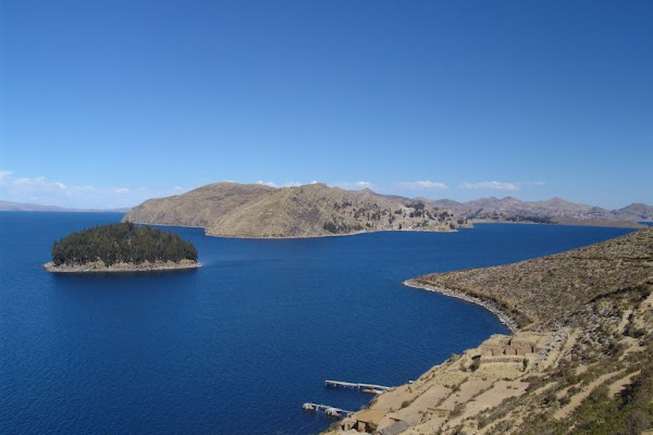 from isla del sol, Lake_Titicaca