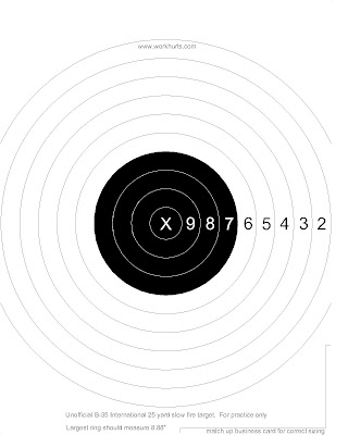 photo about Printable Nra Pistol Targets called 5 Meter Air Rifle Concentrate Pdf Print - gizamarine